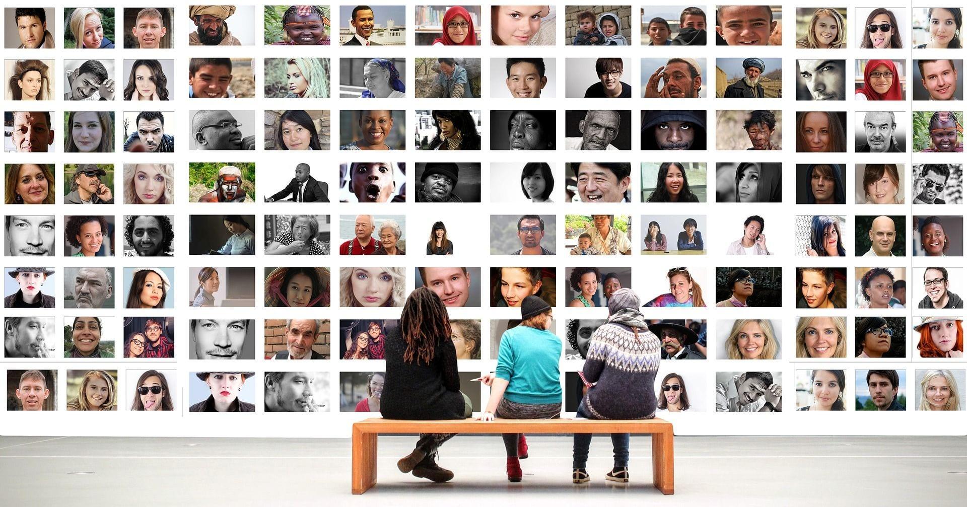 portraits de personnes- acteurs de la société
