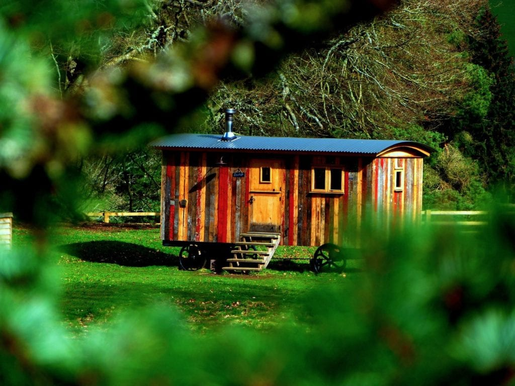 roulotte glamping