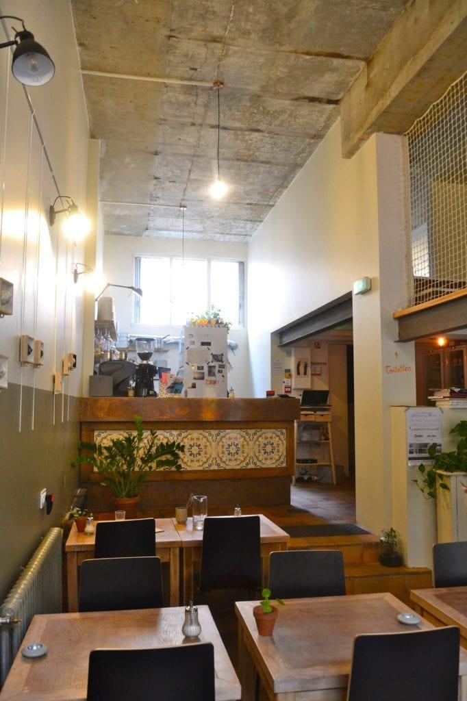 Café Folk restaurant bio au Mans