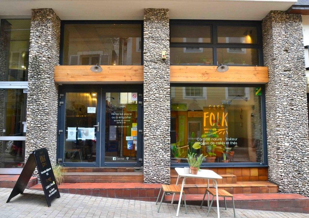 Café Folk restaurant local de saison