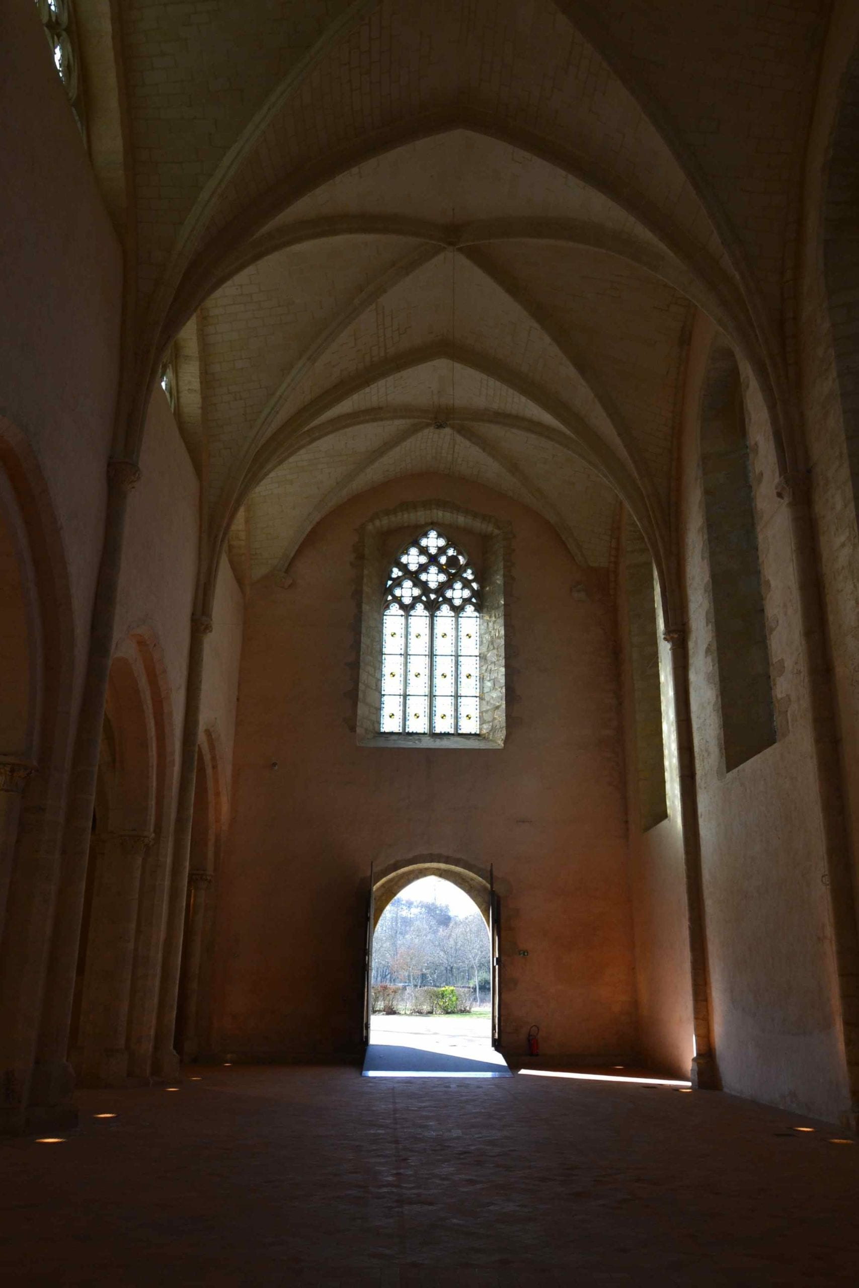 Visiter l'abbaye de l'epau