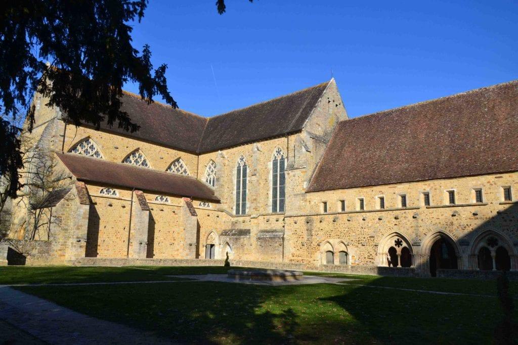 découvrir l'abbaye de l'épau au Mans
