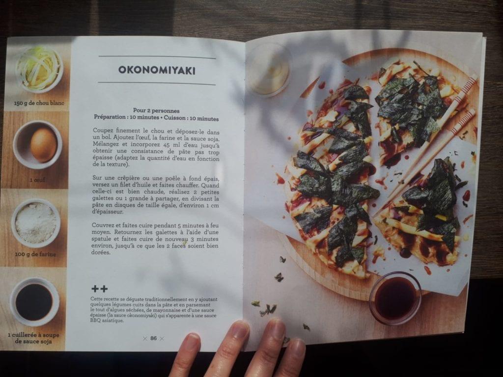 Recette Okonomiyaki pays japon