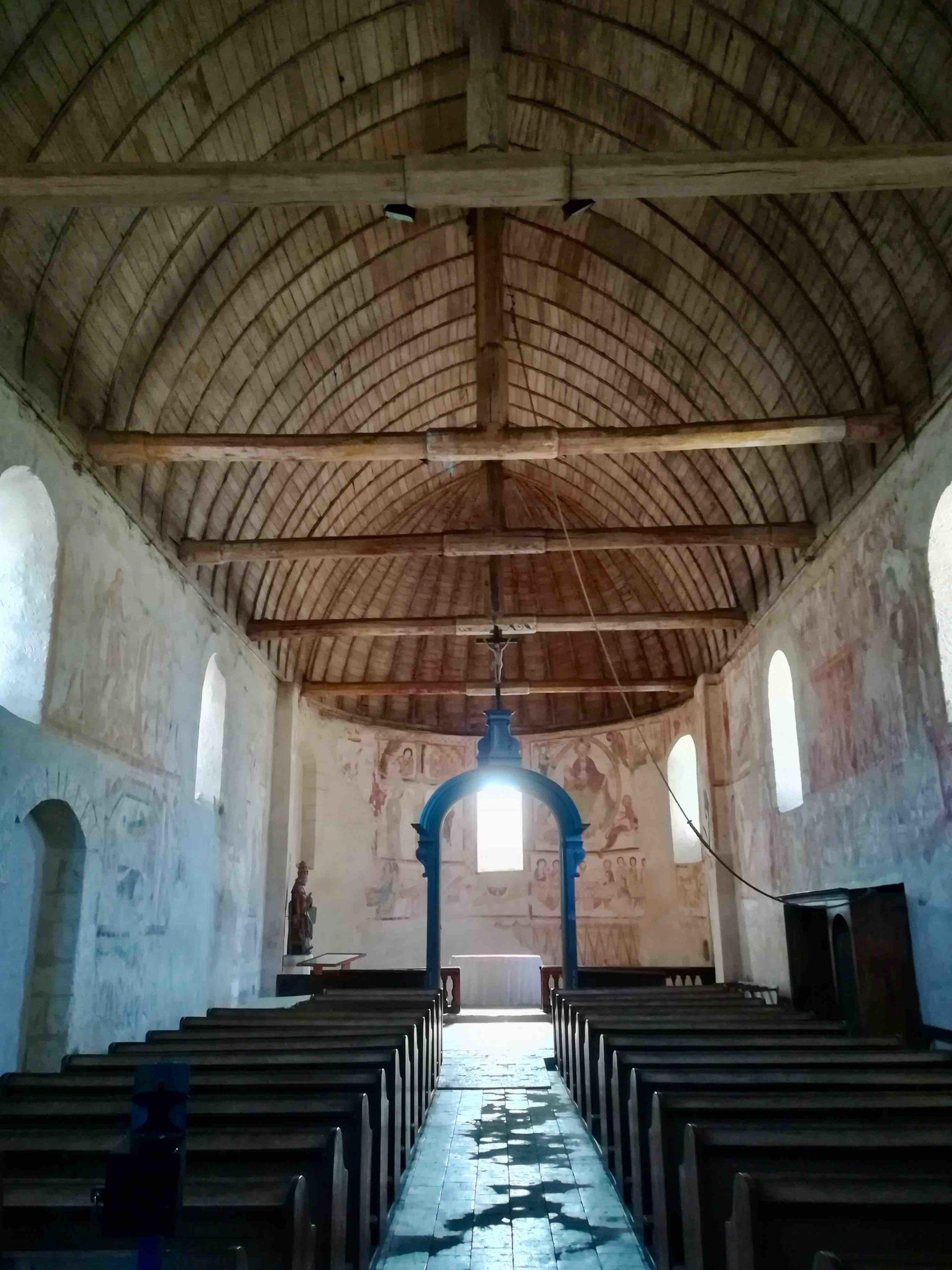 Fresques de l'église de Saint-Jacques-des-gérets