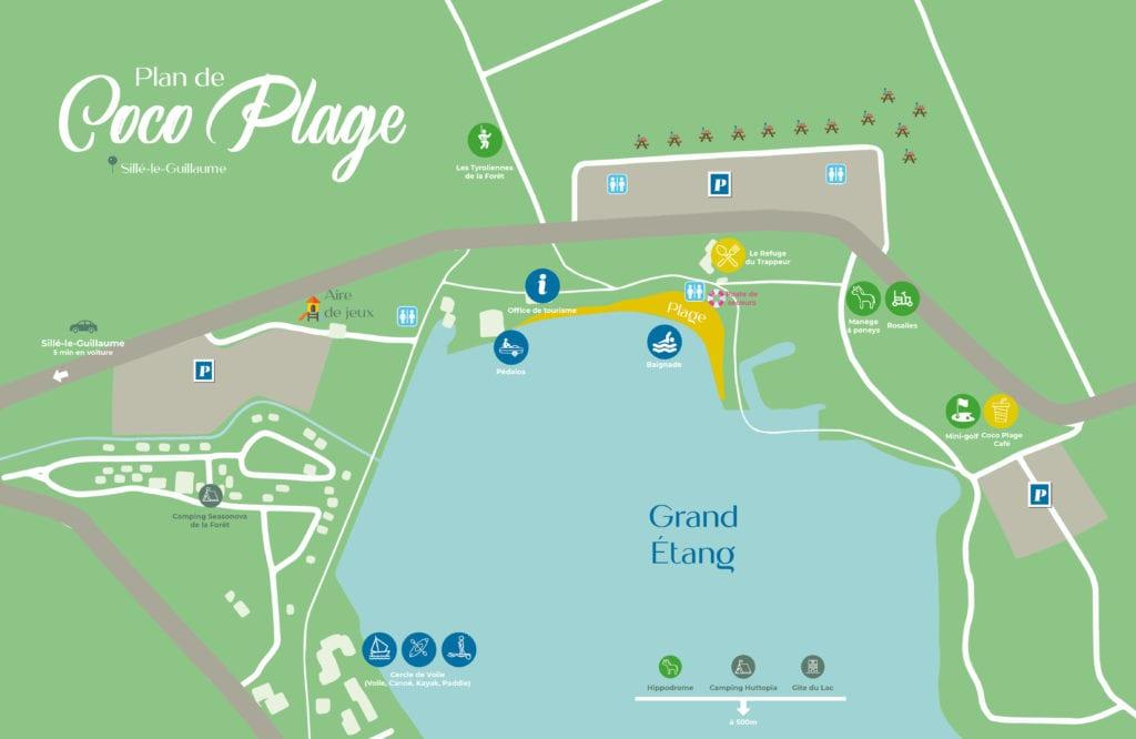 Plan de Coco plage