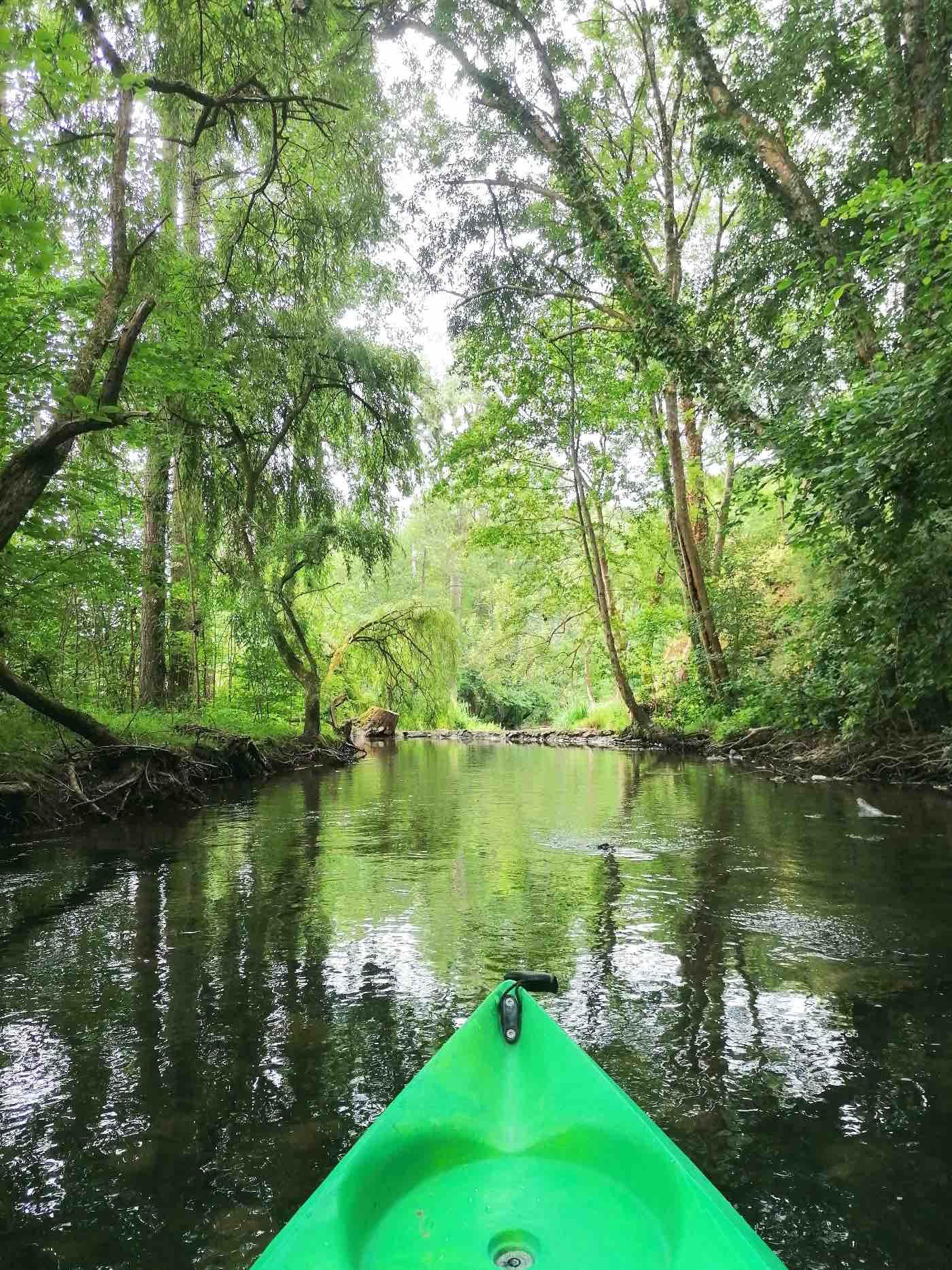 canoe kayak dans les alpes Mancelles