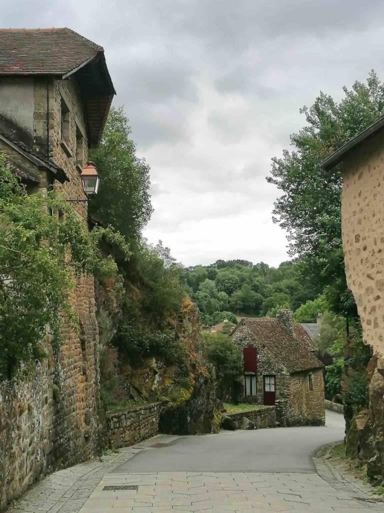 rue de saint Céneri, plus beau village de France