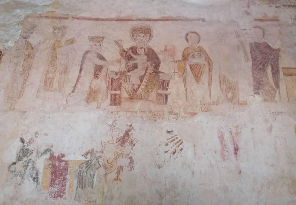 peintures église saint hilaire asnières