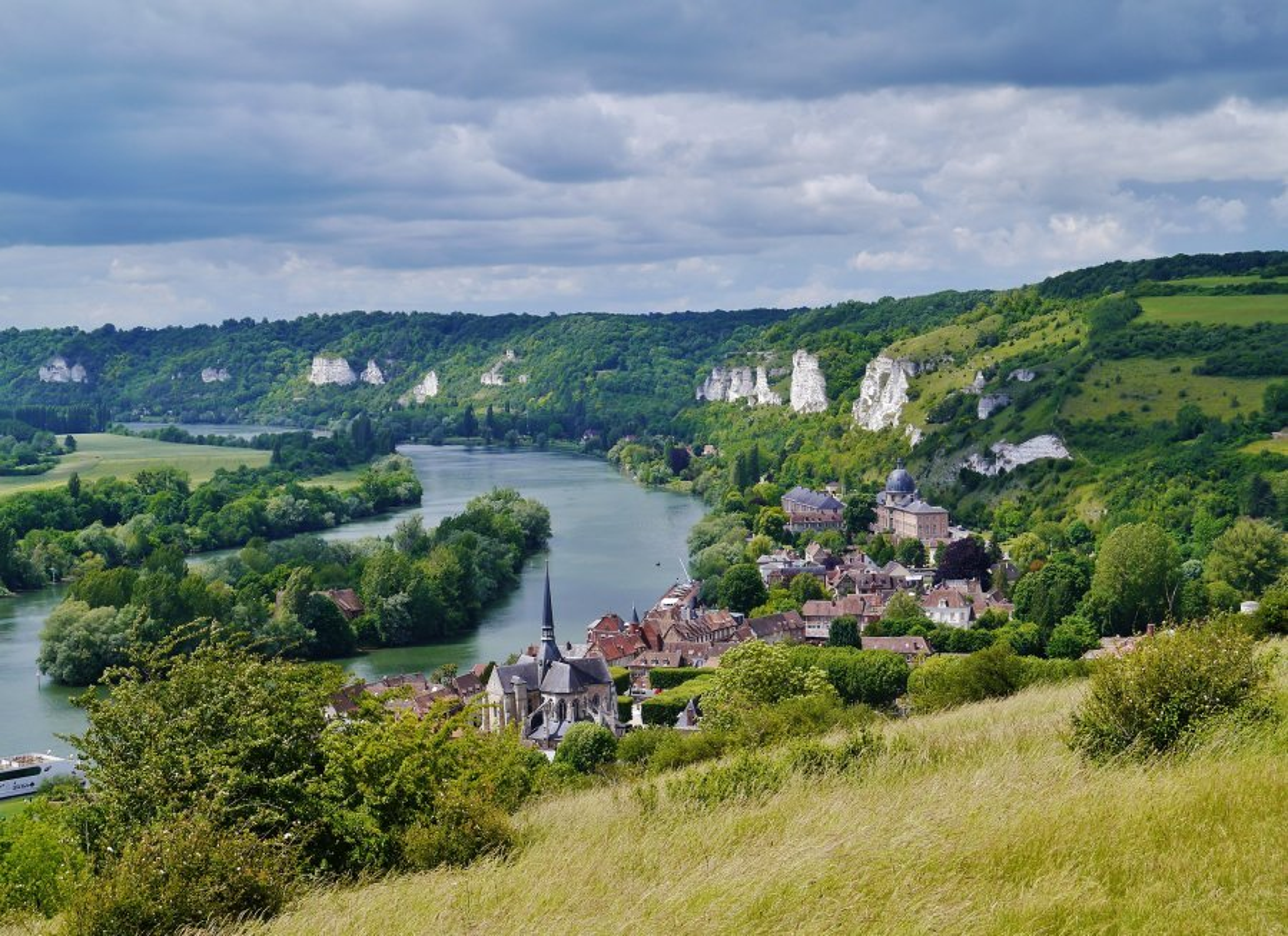 tourisme en Normandie le long de la Vallée de la Seine