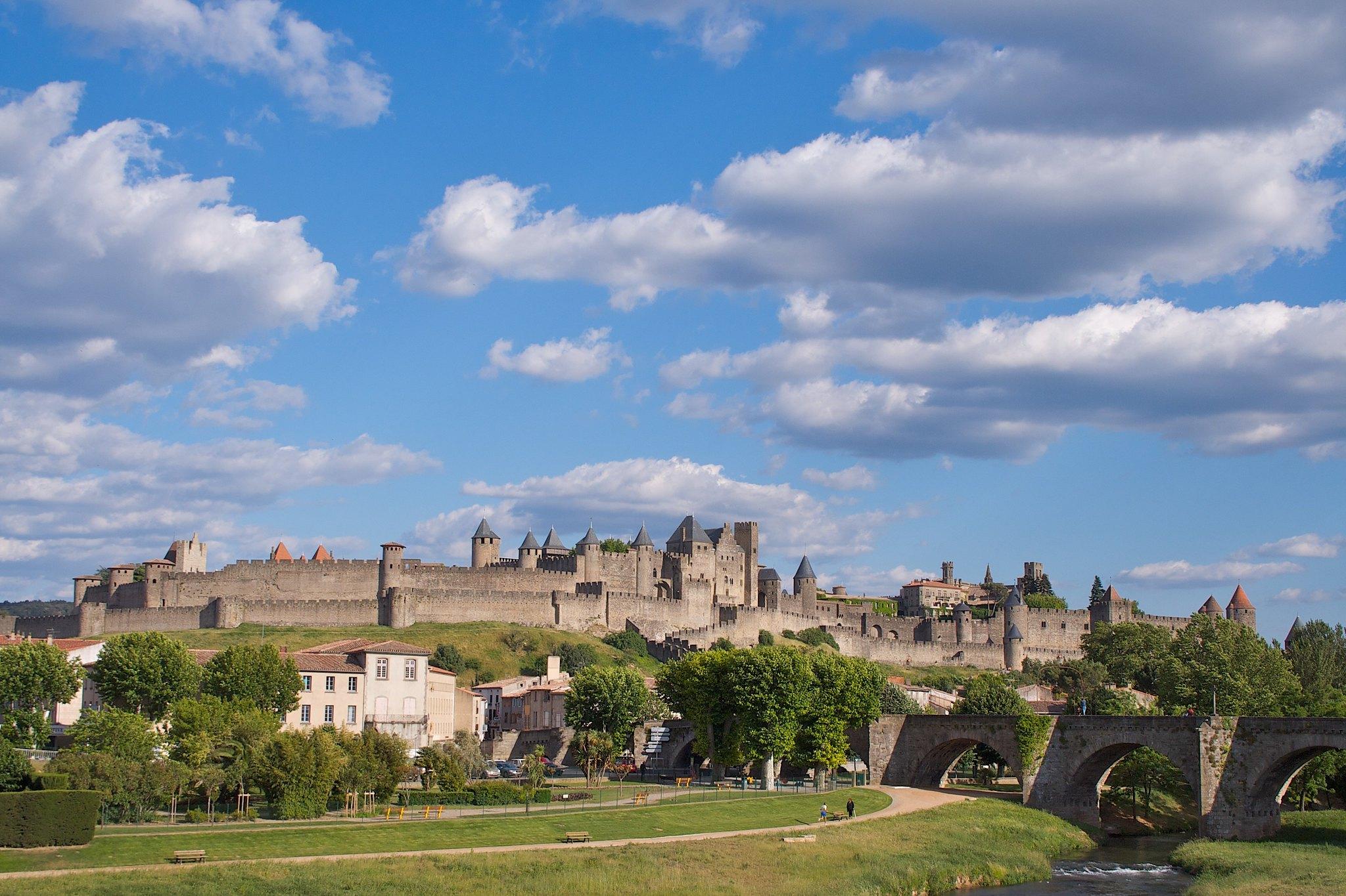 Carcassonne Aude cité de France