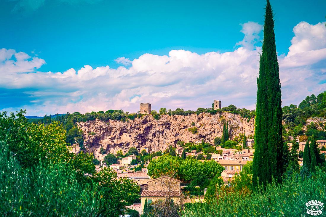 Cotignac, var village médiéval de France