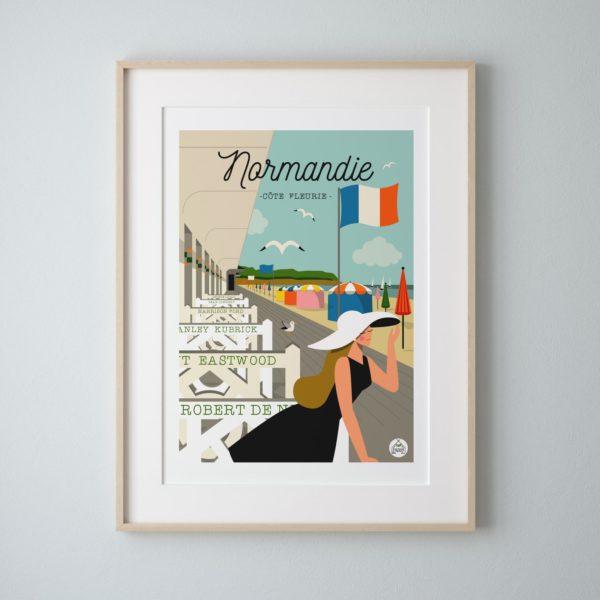Affiche Normandie Les Petits Yéyés