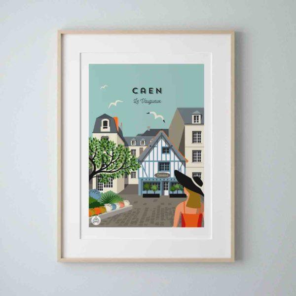 affiche Caen