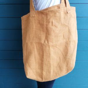 sac marché lin fait main