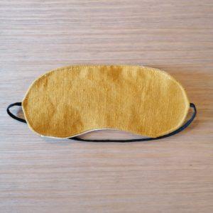 masque sommeil lin