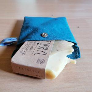 pochette artisanale savon